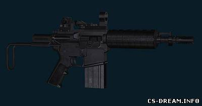 Steyr AUG - Colt M4 Patriot