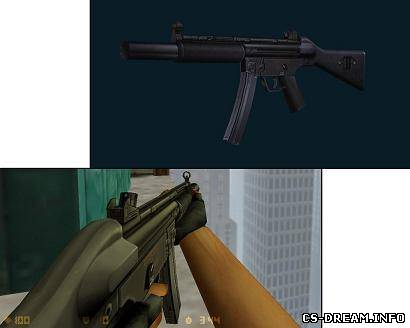 MP5 - Heckler & Koch MP5 SD5