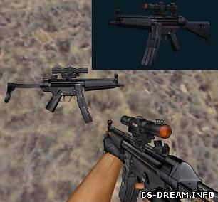 MP5 - Heckler & Koch MP5A3