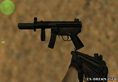 TMP - Suppressed MP5K