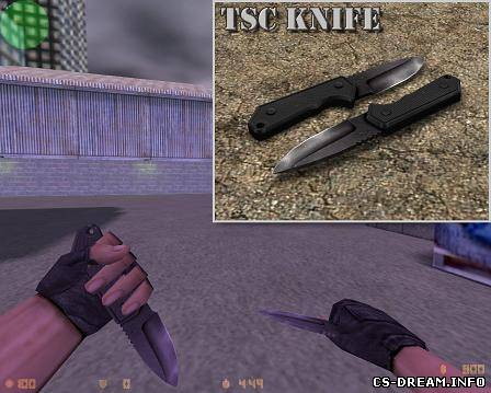 Ножи для кс 1.6 - TSC knife for 1.6 (2 anim...
