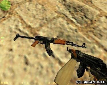 AK-47 - Hack Default Model AKS-47