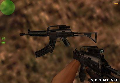 SIG 552 - Default sg552 with and wi...