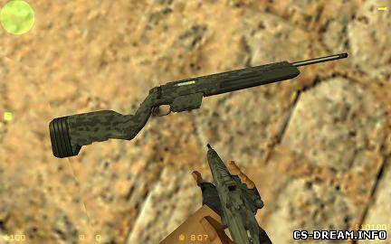 Steyr Scout - Digital Camo Steyr Scout ...